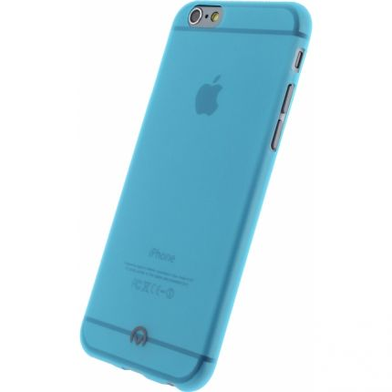 Mobilize Gelly TPU Backcover für iPhone 6(s) - Neon Blue