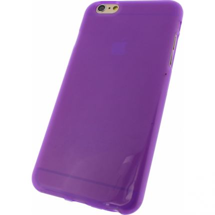 Mobilize Gelly TPU Backcover für iPhone 6(s) Plus - Lila