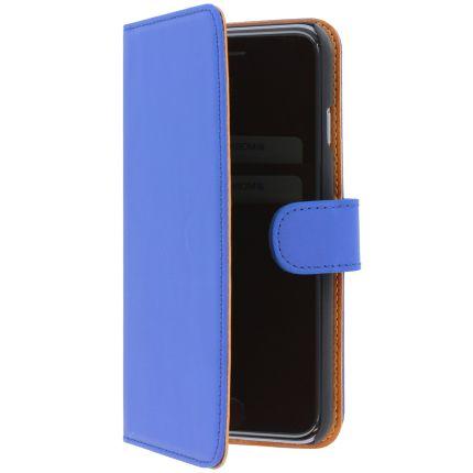 Mobiparts Premium Wallet Klapphülle für iPhone 6(s) - Blau