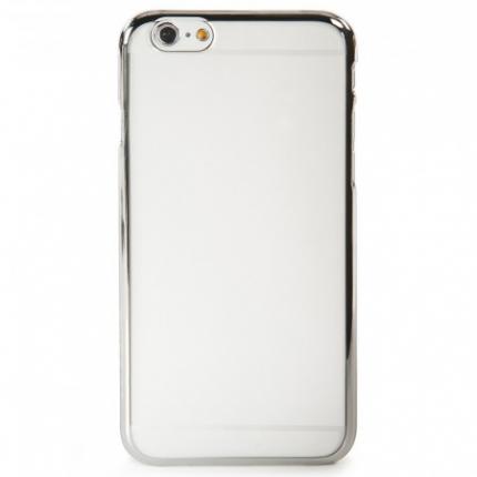 Tucano Elektro Snap Hardcase Backcover für iPhone 6(s) Plus - Silber