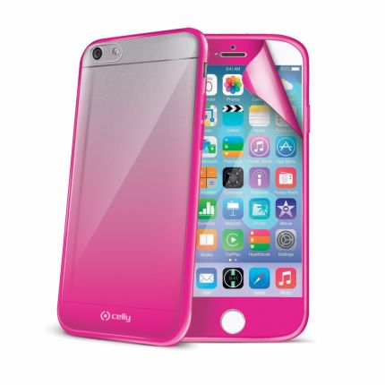 Celly Sunglasses Hardcase Backcover für iPhone 6(s) - Pink