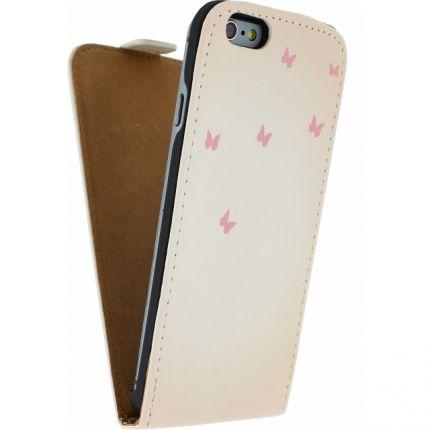 Mobilize Ultra Slim Flipcase für iPhone 6(s) - Hirsch