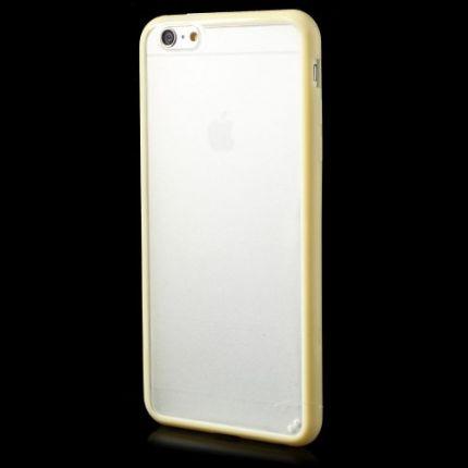 Mobigear Acrylic Hardcase Backcover für iPhone 6(s) Plus - Gelb