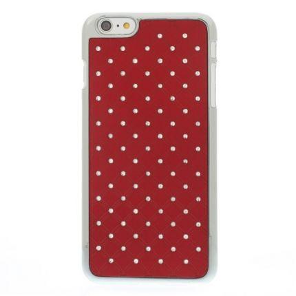 Mobigear Design Hardcase Backcover für iPhone 6(s) Plus - Rot