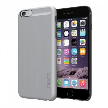 Incipio Feather Shine Hardcase Backcover für iPhone 6(s) Plus - Silber