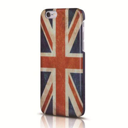 Itskins Hamo Hardcase Backcover für iPhone 6(s) - Vintage UK-Flagge