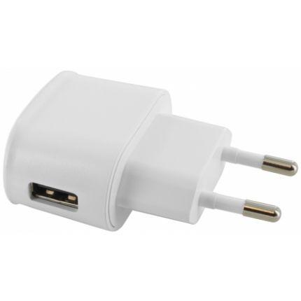Mobiparts Premium Single USB Ladegerät 5W 1A - Weiß