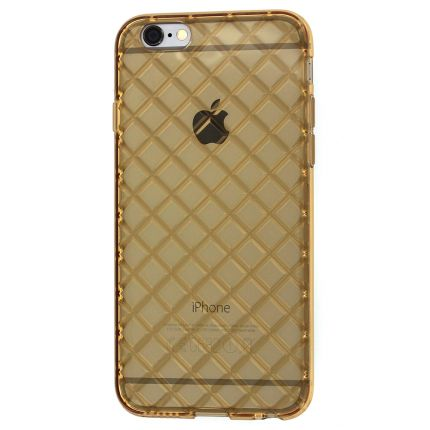 Mobigear Diamond TPU Backcover für iPhone 6(s) - Gold