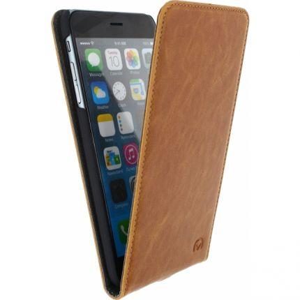Mobilize Premium Magnet Flipcase für iPhone 6(s) Plus - Braun