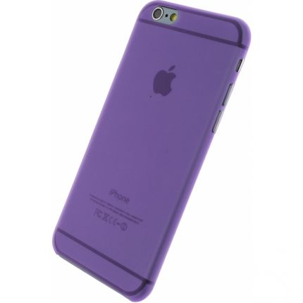Xccess Thin Frosty Hardcase Backcover für iPhone 6(s) - Lila