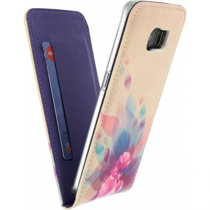 Mobilize Premium Magnet Flipcase für Samsung Galaxy S6 Edge - Fire Flower