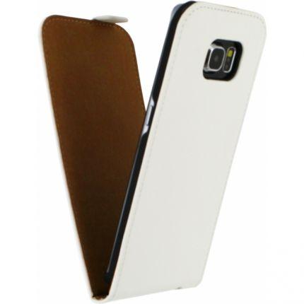 Mobilize Ultra Slim Flipcase für Samsung Galaxy S6 Edge - Weiß