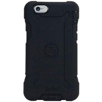 Gecko Rugged Hardcase Backcover für iPhone 6(s) Plus - Schwarz