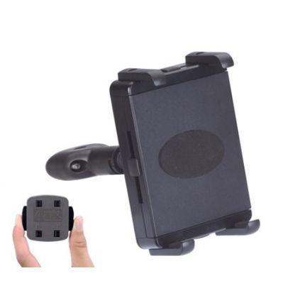 HR Richter Tablet Kopfstützenhalter Universal 105- 205mm - Schwarz