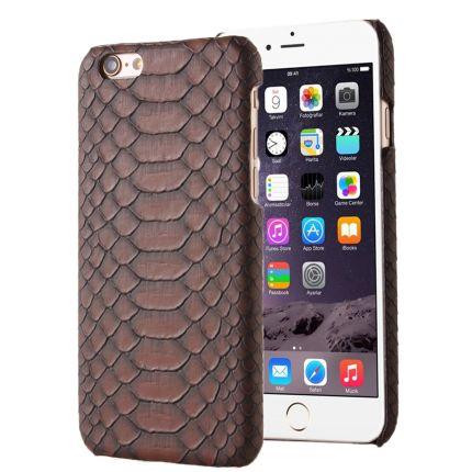 Mobigear Snake Hardcase Backcover für iPhone SE (2016) / 5S / 5 - Braun