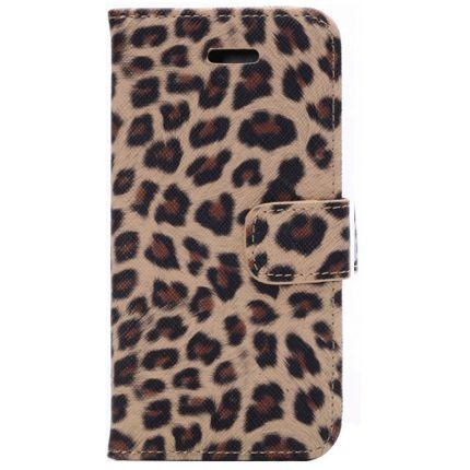Mobigear Leopard Klapphülle für iPhone 6(s) - Gelb