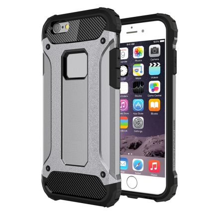 Mobigear Outdoor Hardcase Backcover für iPhone 6(s) - Grau