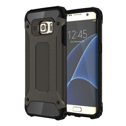 Mobigear Outdoor Hardcase Backcover für Samsung Galaxy S7 Edge - Schwarz