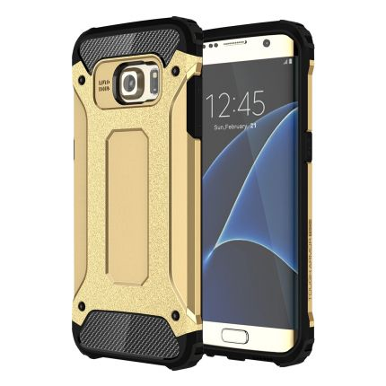 Mobigear Outdoor Hardcase Backcover für Samsung Galaxy S7 Edge - Gold