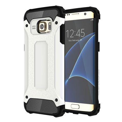 Mobigear Outdoor Hardcase Backcover für Samsung Galaxy S7 Edge - Weiß