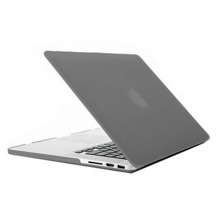 Mobigear Matte Case für MacBook Pro 15 Zoll - Grau