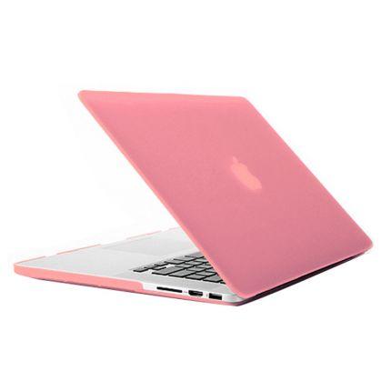 Mobigear Matte Case für MacBook Pro 15 Zoll - Pink