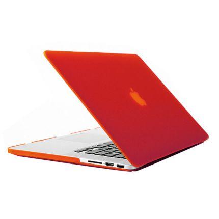 Mobigear Matte Case für MacBook Pro 13 Zoll - Rot