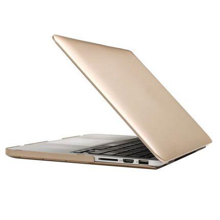 Mobigear Metallic Case für MacBook Pro 13 Zoll - Gold