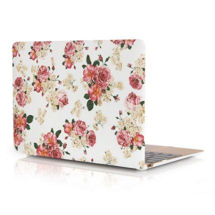 Mobigear Design Case für MacBook 12 Zoll - Chinese Rose