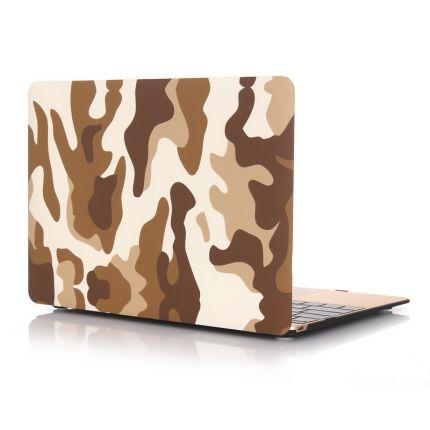 Mobigear Camouflage Case für MacBook 12 Zoll - Braun