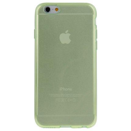 Mobigear Color TPU Backcover für iPhone 6(s) Plus - Grün