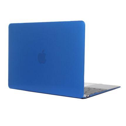 Mobigear Glossy Case für MacBook 12 Zoll - Dunkelblau