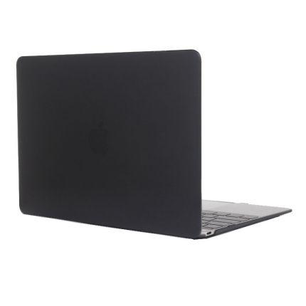 Mobigear Glossy Case für MacBook 12 Zoll - Schwarz