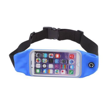 Mobigear Neopren Sportarmband für iPhone 6(s) - Dunkelblau