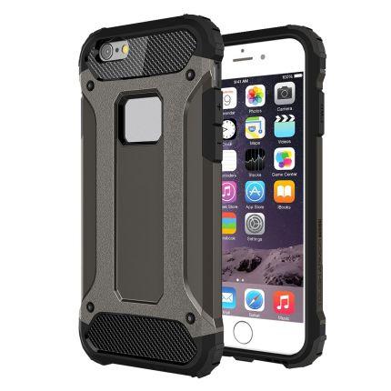 Mobigear Outdoor Hardcase Backcover für iPhone 6(s) Plus - Schwarz
