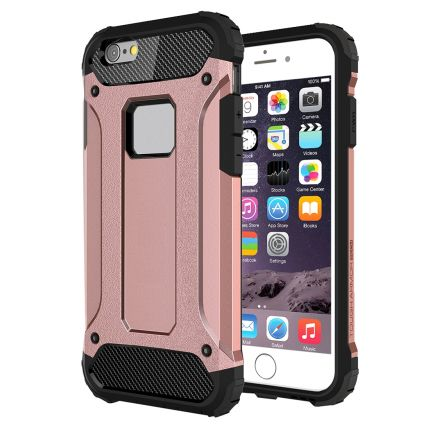 Mobigear Outdoor Hardcase Backcover für iPhone 6(s) Plus - Pink