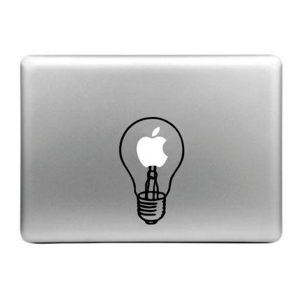 Mobigear Design Sticker für Apple MacBook Air / Pro (2008-2015) - light bulb
