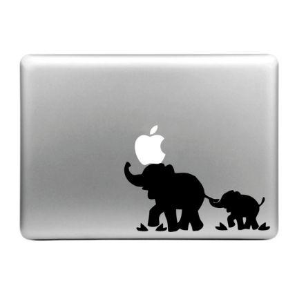 Mobigear Design Sticker für Apple MacBook Air / Pro (2008-2015) - Elefant