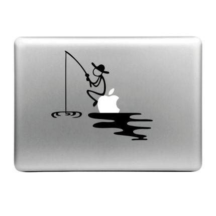 Mobigear Design Sticker für Apple MacBook Air / Pro (2008-2015) - Angeln