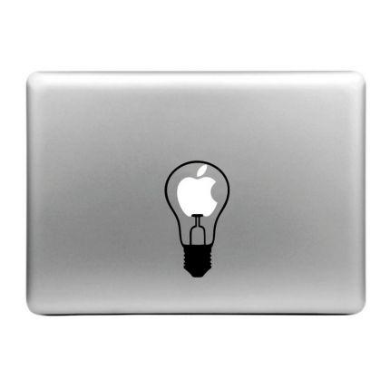 Mobigear Design Sticker für Apple MacBook Air / Pro (2008-2015) - little Bulb