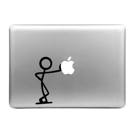 Mobigear Design Sticker für Apple MacBook Air / Pro (2008-2015) - Lean On Apple