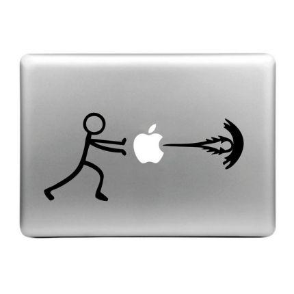 Mobigear Design Sticker für Apple MacBook Air / Pro (2008-2015) - Energy Boost