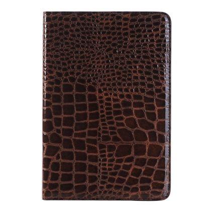 Mobigear Krokodil Klapphülle für iPad Mini 4 (2015) - Braun