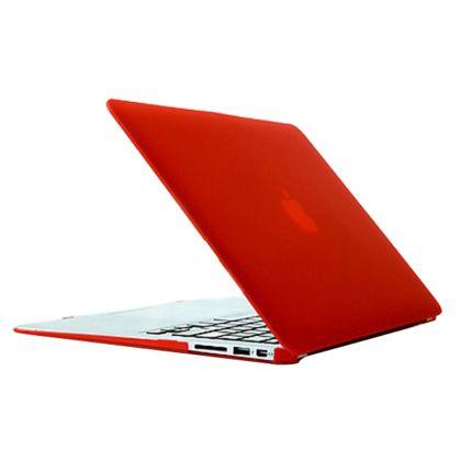 Mobigear Matte Case für MacBook Air 13 Zoll - Rot