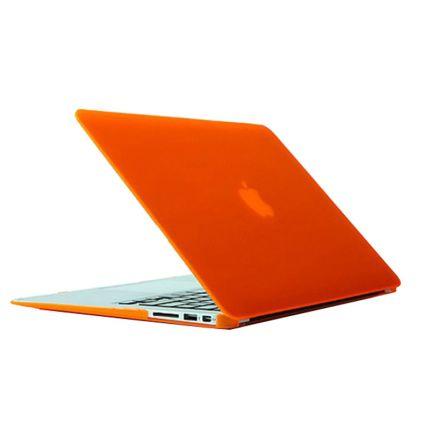 Mobigear Matte Case für MacBook Air 13 Zoll - Orange
