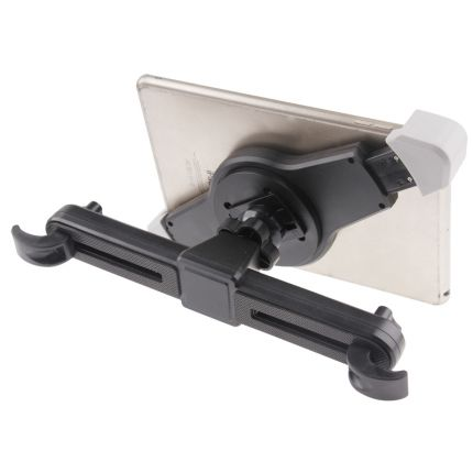 Mobigear 360 Rotation Tablet Kopfstützenhalter Universal 21 - 31cm - Schwarz
