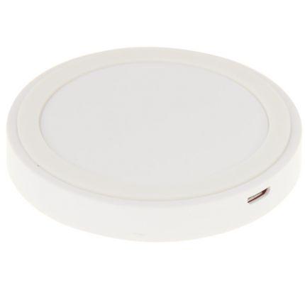 Mobigear Mini Drahtloses Ladegerät Qi 5W - Weiß
