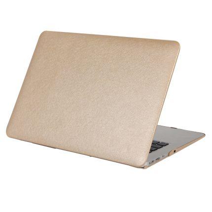 Mobigear Silk Texture Case für MacBook Pro 15 Zoll - Gold