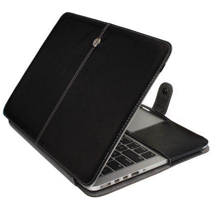 Mobigear Business Case für MacBook Pro 13 Zoll - Schwarz