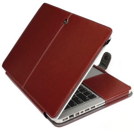 Mobigear Business Case für MacBook Pro 15 Zoll - Braun